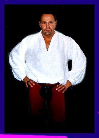 Michael Wilk, '74, Costume for the Faire2