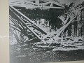 Saint Petersburg, Catherine's Palace - photo of damage during Nazi occupation