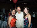 PR Rachel Moscoso Denis in the company of Dr and Mrs Lloyd Beaufils from Lauderdale-Lakes.