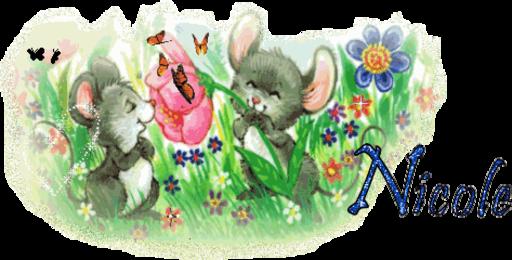 Nicole - Mice n Flwr By Imakheeper dena