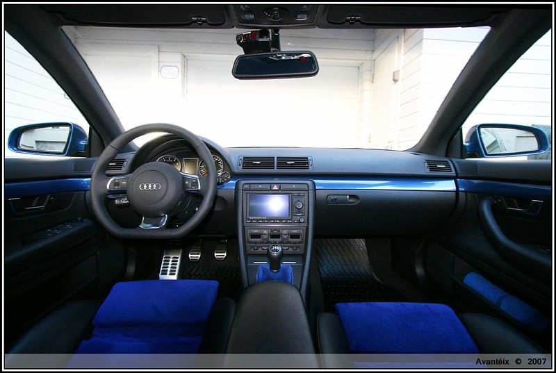 How Do You Think This Will Look Blue Alcantara Blue Cf