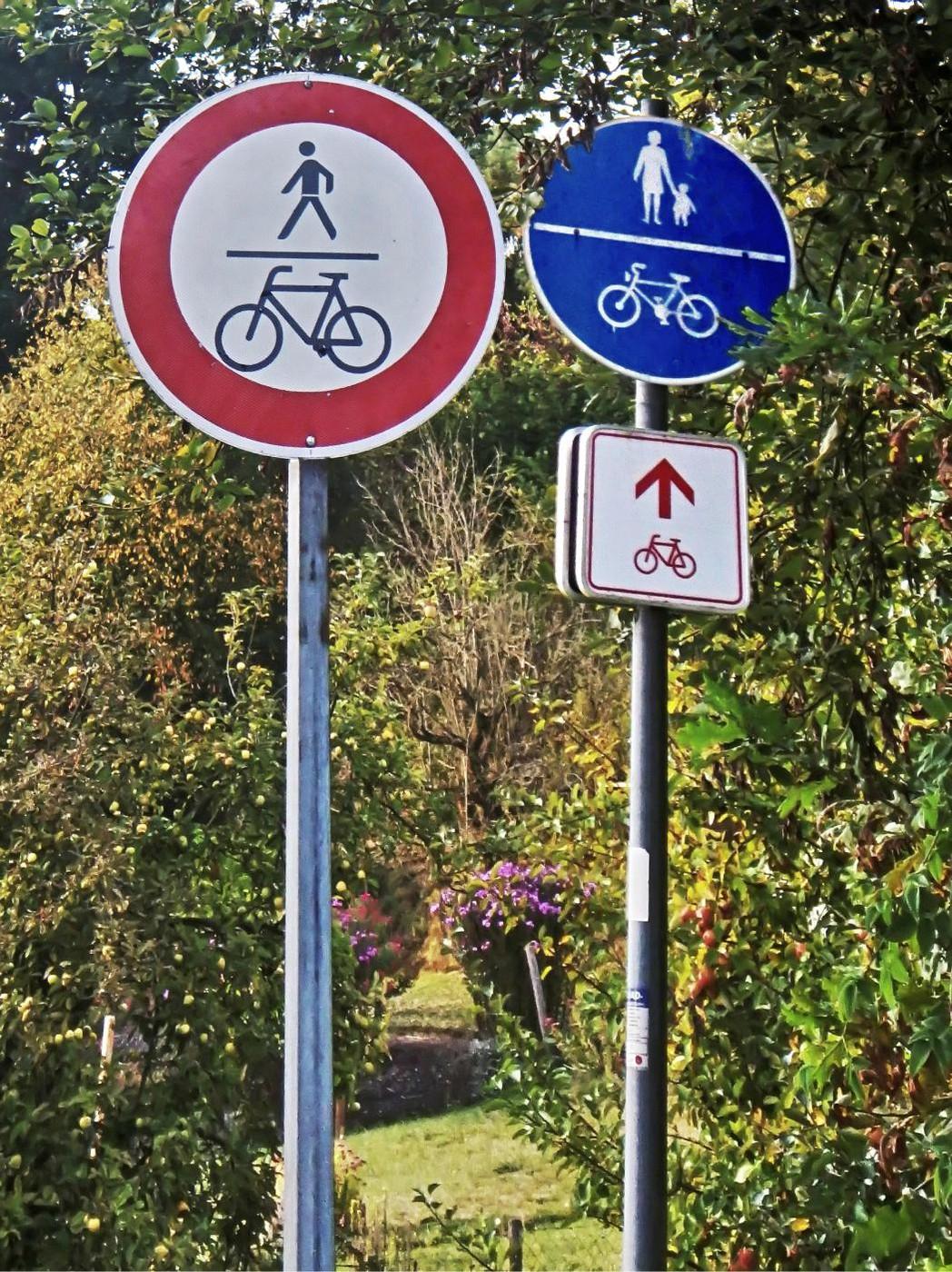 Durchfahrtverbot oder Benutzungspflicht???