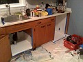 Thursday December 10 2009  8:00 PM.   Yoga class is over.  Now work on evening projects.  Re-hab the under sink area and old dishwasher area in the rental.