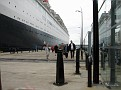 QE2 alongside the new Liverpool Landing Stage