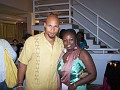 Haitian american Artist Grimo and Shirley Cesar.