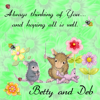Sew thinking of you  betty&deb