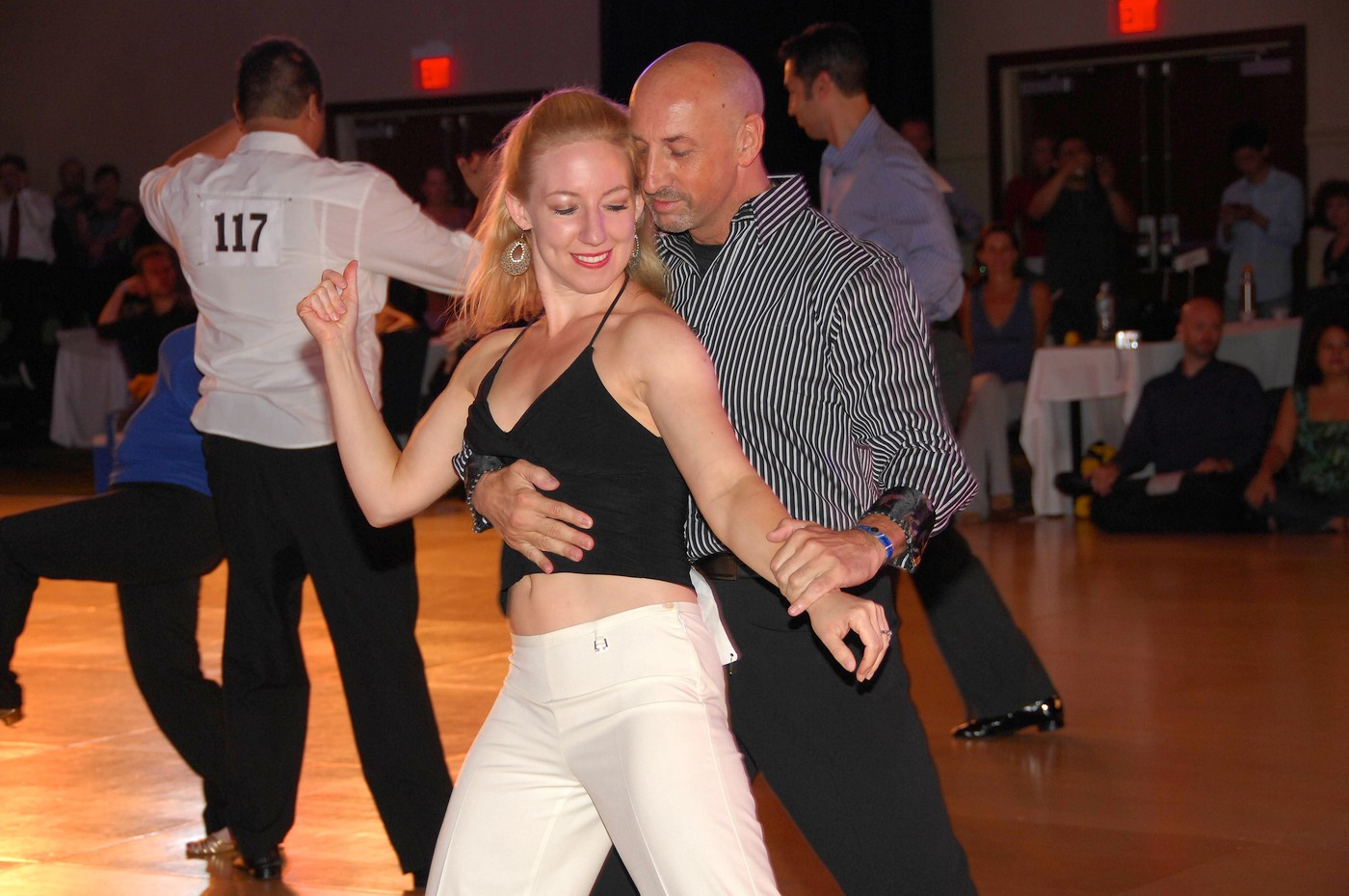 Anna Novoa at Swing Fling 2011 - Intermediate Jack & Jill