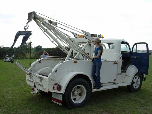 1951 ford coe tow - photo #5
