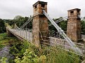 Whorlton Suspension Bridge, built in 1831