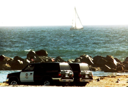 CA- LAPD 1996 Toyota 4Runner beach units
