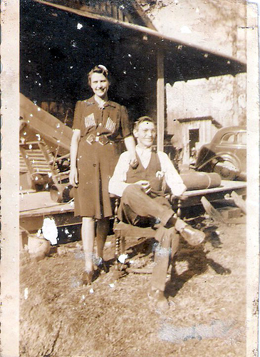 5-Maternal Great-Grandparents, Archie and Pearl RIGGS Moffett