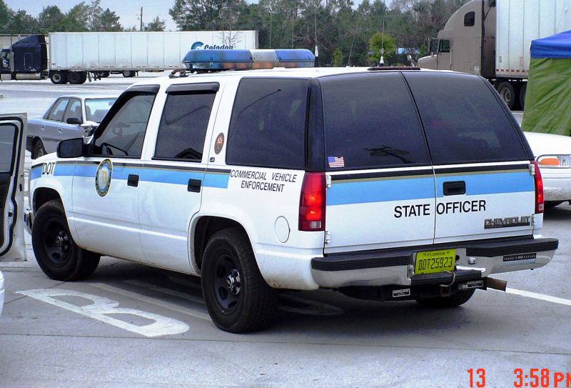 1999 chevrolet tahoe rear for Motor carrier compliance florida