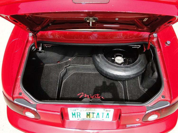 Photo: Lead battery conversion | 1993 Mazda Miata C Package