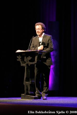 Per Petterson, vinner av Brageprisen 2008