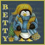 Stay Warm Penguin-Betty