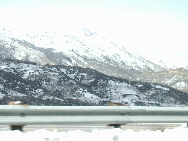 Snow - I5 grapevine