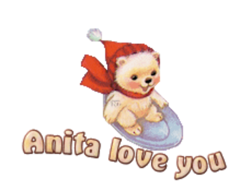 Anita love you - WinterSlides