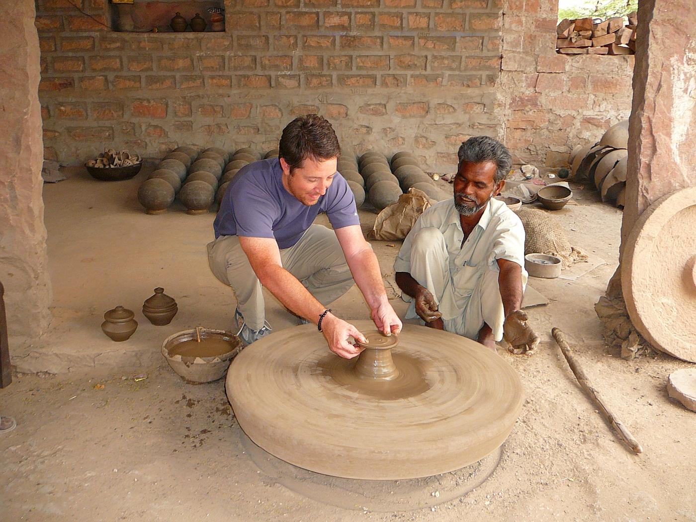 Master saucer maker