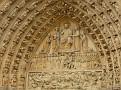 Notre Dame Above Door Story of Christ