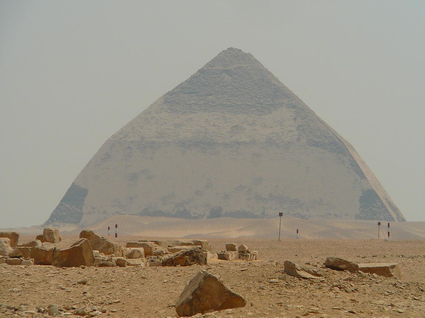 Bent Pyramid in Dashar