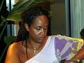 Haitian Beauty posing .