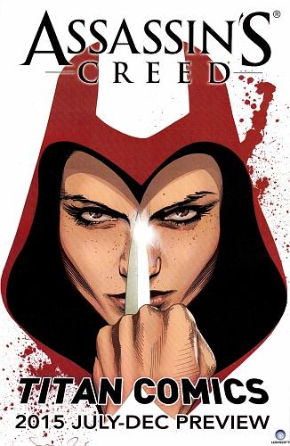 Titan Comics 2015 July-December Preview