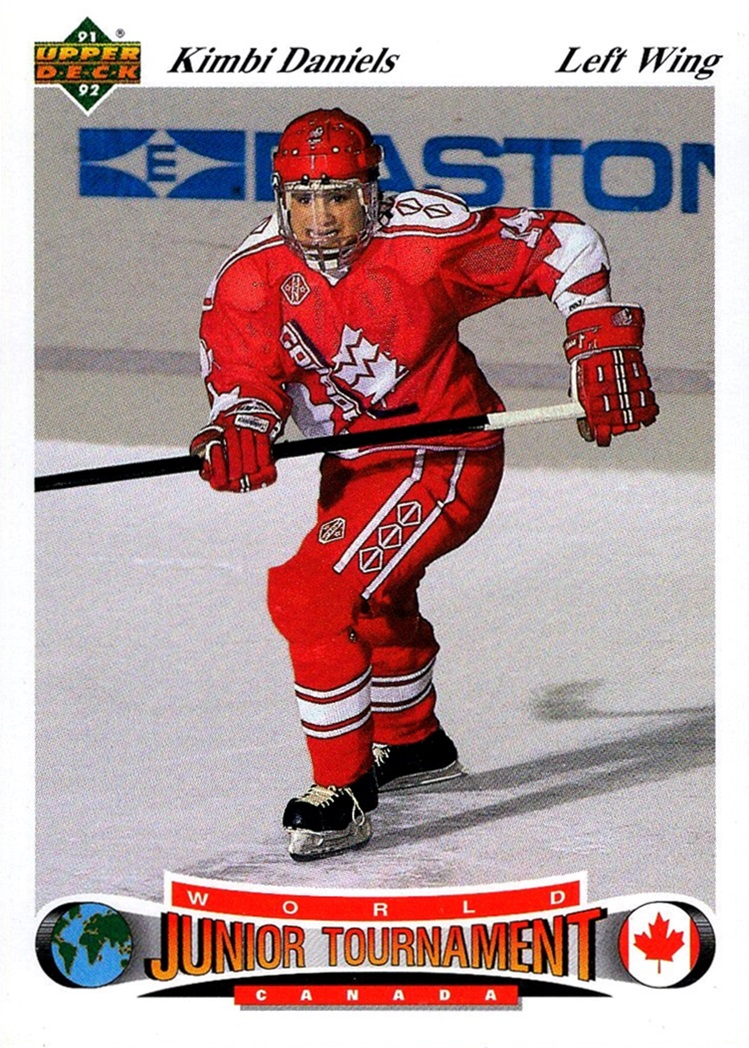 1991-92 Upper Deck Czech World Junior Tournament #061 (1)