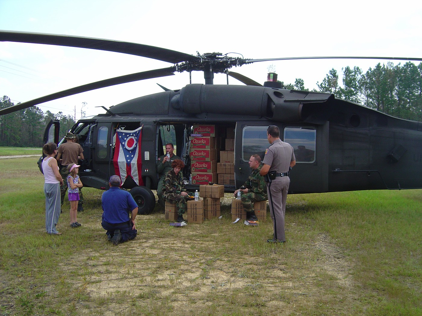 FL trooper with army helo