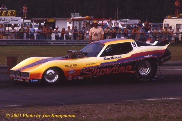 Photo: Tom Hoover Showtime Corvette FC -11 | Corvette Funny Cars