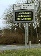 Beim Überholen von Radfahrern: Bitte 1,5 m Abstand!