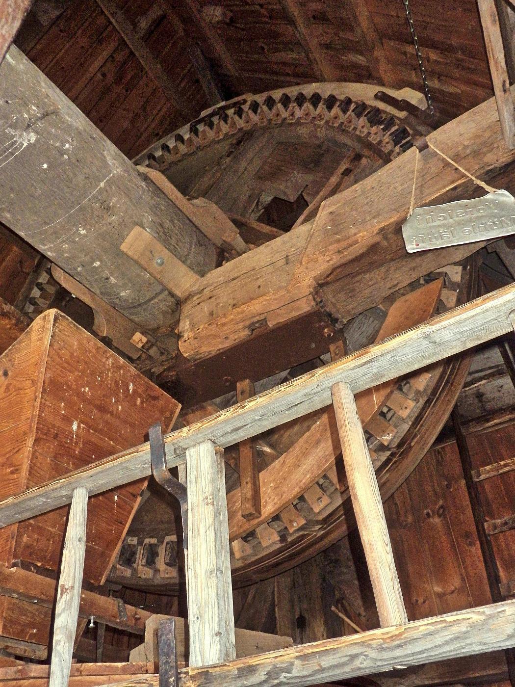 Kammrad der Bockwindmühle