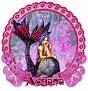 Adriana Floral-Maid Lavender