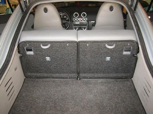 The Audi Tt Forum View Topic Trim Materials For Rear