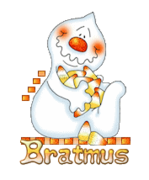Bratmus - CandyCornGhost