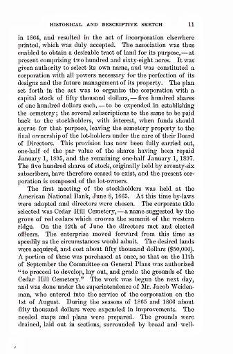 CEDAR HILL CEMETERY - PAGE 11