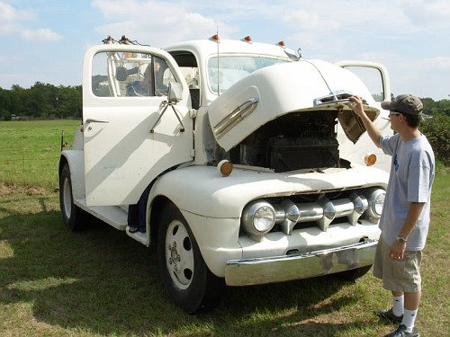 1951 ford coe tow - photo #4