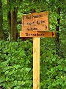 Neues Schild zeigt den Heimweg