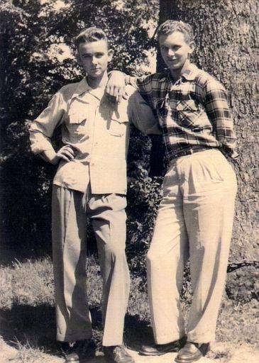 Gaylon Sharpe and his brother, Mylus Ott Sharpe