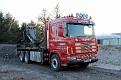 CV52 GDJ   Scania 164G580 6x4 rigid crane truck