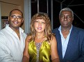 Lionel & Aracely Champagne and Bellande Georges.