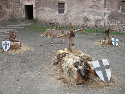 Graves at Hunedoara