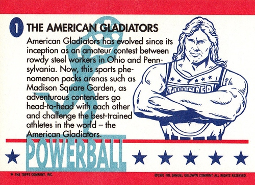 American Gladiators #01 (2)
