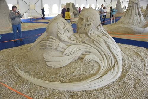 Sand Sculptures 2015 099