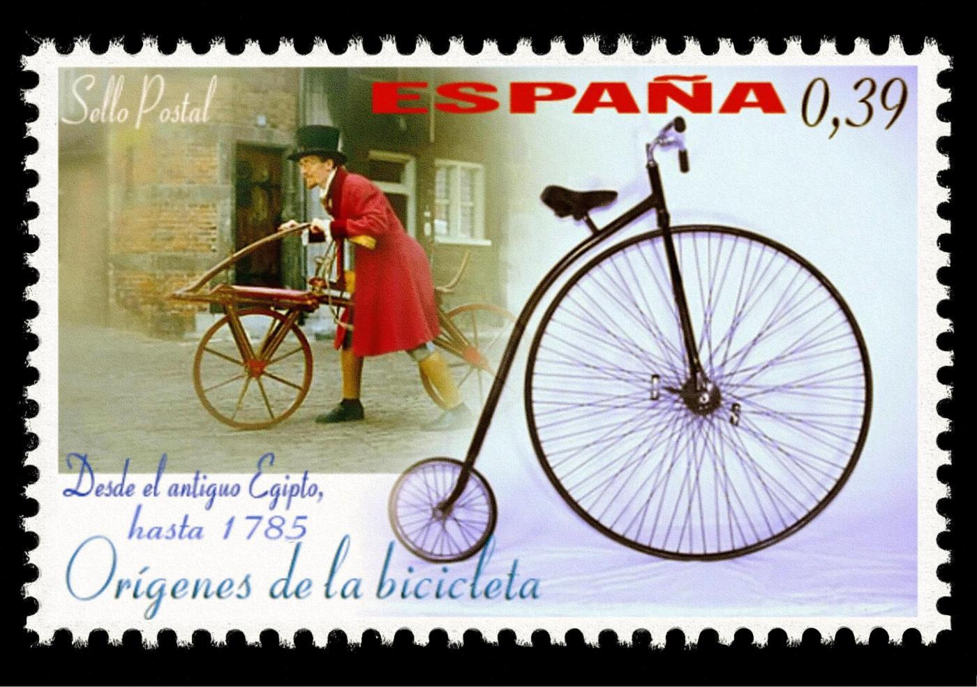 Origenes de la bicicleta