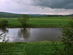 Die Weser bei Emmerthal