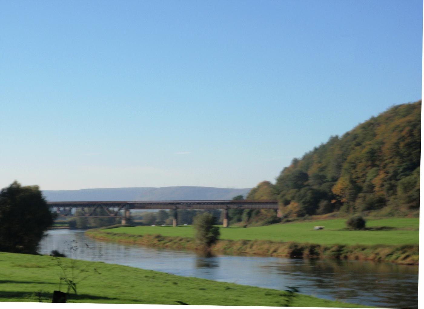 Eisenbahnbrücke Meinbrexen
