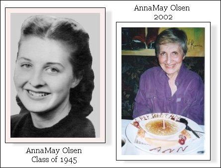 AnnaMay Olsen Class of 1945
