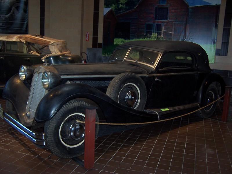 1937 Horch Model 853 Cabriolet