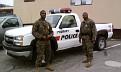 US - Marines Camp Pendelton Police