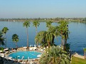 View of Nile from Sheraton Luxor